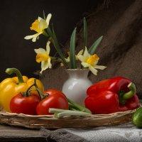 Натюрморт с овощами :: Борис Ряузов