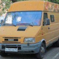 Жёлтый фургон Iveco :: Дмитрий Никитин