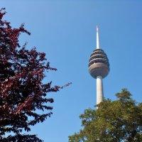 Нюрнбергская телевизионная башня является самым высоким сооружением в Баварии. :: backareva.irina Бакарева