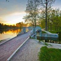 Парк,мостик Гатчина :: Александр