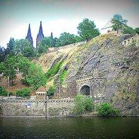 Чехия. Прага. Вид с реки Влтава. :: Владимир Драгунский