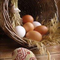 Натюрморт с рукотворным яйцом. :: Nata