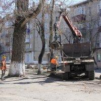 Уборка в поселении... :: Александр Широнин