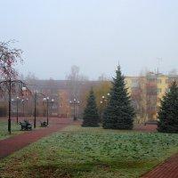 Туманное утро. :: Инна Щелокова