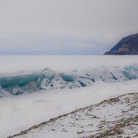 Байкальский прибой в апреле :: Грег