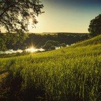 Вечерняя красота природы России . река Протва . :: Александр