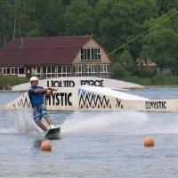 Спорт на озере :: Вера Щукина