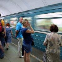 В метро :: Андрей