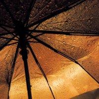 Ночь. Дождь. Зонт :: Валентин Драздов
