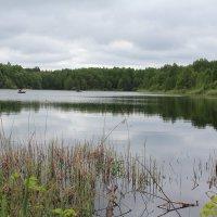 озеро и рыбаки :: Светлана Рябова