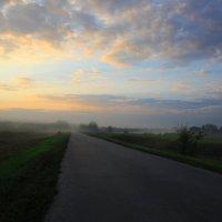 Утренняя дорога :: Михаил Пахомов