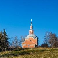 Храм Одигитриевской Божьей Матери с. Шерья :: Мария Парамонова