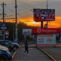 Паутина города. :: Андрей Козлов