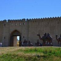 Туркестан. Крепостная стена. :: Anna Gornostayeva