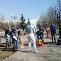Спортивный праздник, посвященный Дню Космонавтики :: Центр Юность