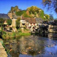 замок д. Сегюр-ле-Шато (chateau de Segur-le-Chateau) XII век :: Георгий