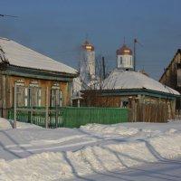 Зимним днём в деревне :: Галина Козлова