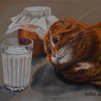 Картину написала с фотографии Натальи Козловой. :: Лара Гамильтон