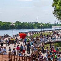 Набережная реки Сож в Гомеле :: Игорь Сикорский