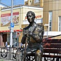 Памятник ветерану войны. :: Лариса Вишневская