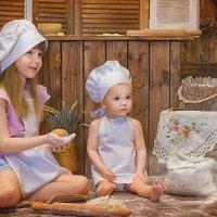 Сладкие поварята! :: Елена Князева