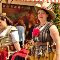 Мода средневековья..Весёлые  баварки-франконки... :: backareva.irina Бакарева