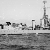 "английский эсминец ""HMS Bataan"", Tribal Class. :: Александр"