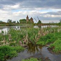 Пруд в селе Ольхи :: Ирина Ярцева