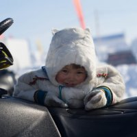 Водитель снегохода :: Kuleshova Polina