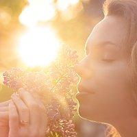 весенний закат :: Елена Князева