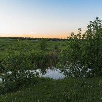 Вечер на речке. :: Виктор Евстратов