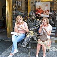 Чехия. Прага. Приятное мороженое... :: Владимир Драгунский