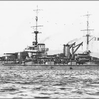 "French battleship ""Lorraine"" in 1917. :: Александр"