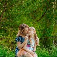дочка с мамой :: Ольга (Кошкотень) Медведева