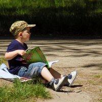 Мальчик с книжкой. :: barsuk lesnoi