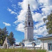 Южные ворота и колокольня :: Галина Каюмова