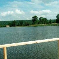 Река – источник дивной красоты, уносит мысли вдаль с водой теченье :: Ирэн