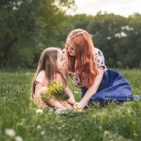 мама и доченька :: Olga Schejko