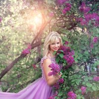Сиреневая весна :: Фотохудожник Наталья Смирнова