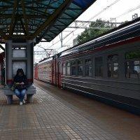 На станции :: dindin
