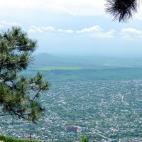 Вид на Пятигорск с горы Машук :: Алла Захарова
