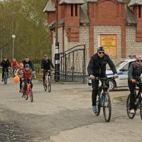 Ежегодный вело пробег, посвящённый открытию вело сезона. :: Александр Иванов