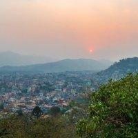 Вечер в Катманду, Непал. :: Валерий Смирнов