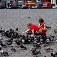 Дети и голуби :: Ольга Попова (popova/j2011)