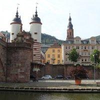Хайдельберг, старинные ворота города :: Lüdmila Bosova (infra-sound)