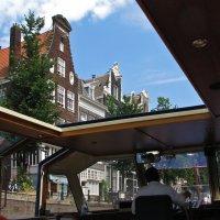 По каналам Амстердама на прогулочном катере :: Grey Bishop