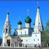 Ярославль. Церковь Ильи Пророка :: Михаил