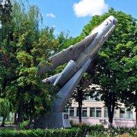 Самолет-памятник МИГ-117. Калуга :: Лариса Вишневская