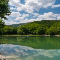 горное озеро :: Андрей Козлов