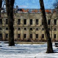 весеннее оживление парка и крыши :: sv.kaschuk